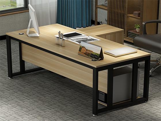 单人办公桌-班台尺寸-品源班台