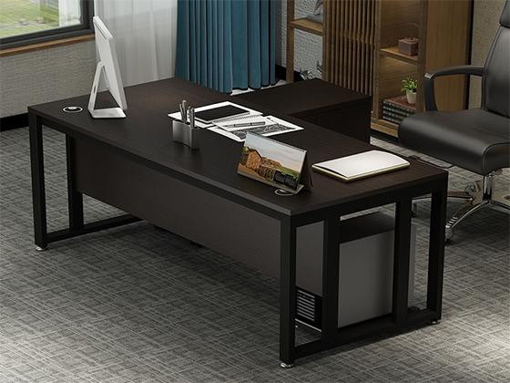 单人电脑办公桌-班台定制-品源班台