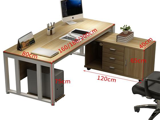单人办公桌尺寸-班台-品源班台