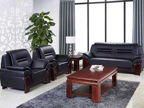 真皮沙发定做-办公沙发-品源办公沙发