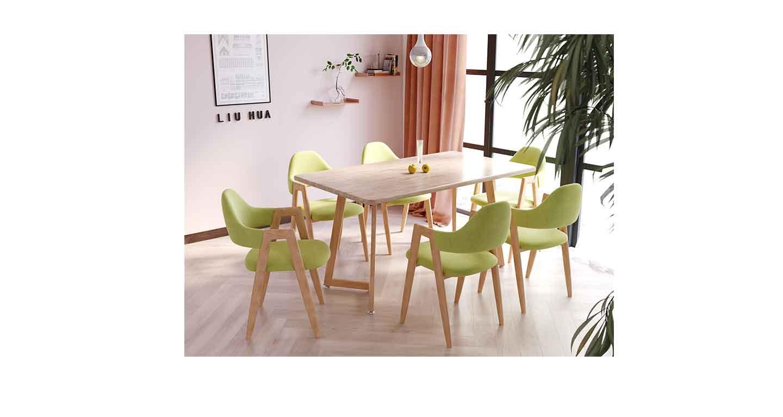 橡木椅子会议桌-会议桌-品源会议桌
