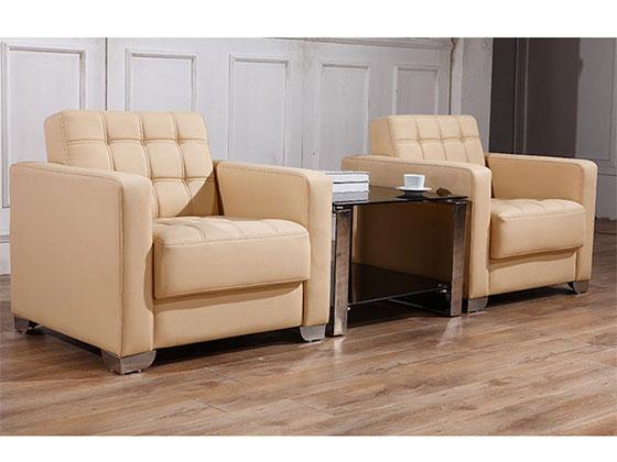黑色时尚沙发-办公室沙发-品源办公沙发