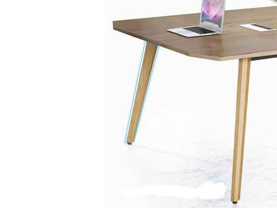 老板室里带会议桌-会议桌尺寸-品源会议桌