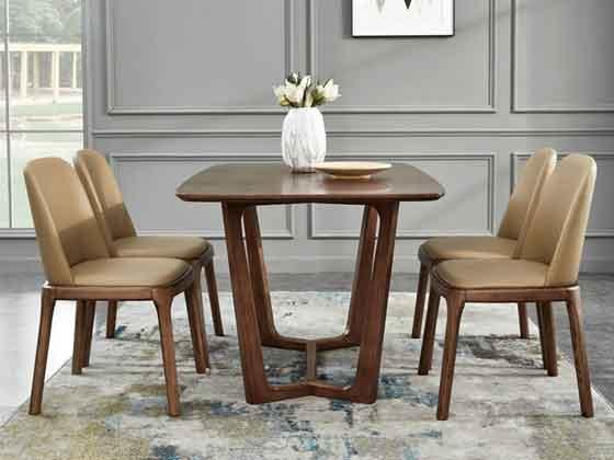 视频会议室桌椅实木-办公室会议桌-品源办公室会议桌