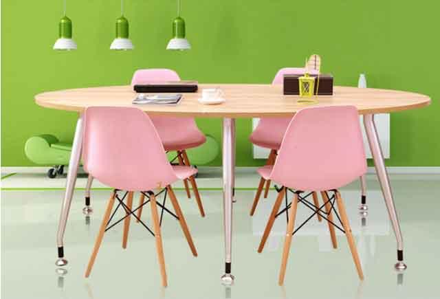 椭圆会议桌 简约现代会议桌