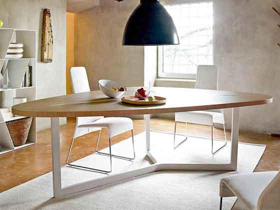 原木圆弧会议桌-会议桌-品源会议桌