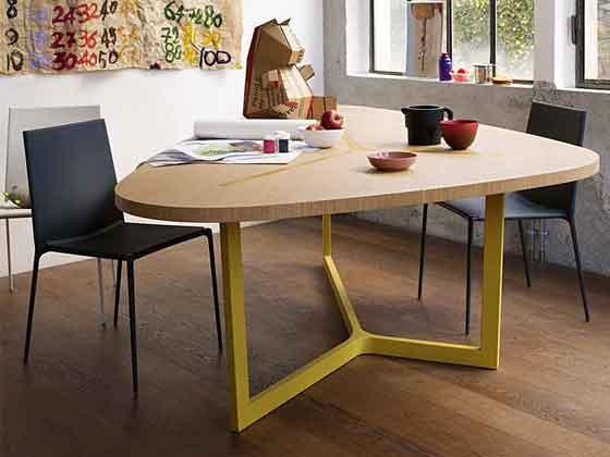 原木圆弧会议桌-会议桌定制-品源会议桌
