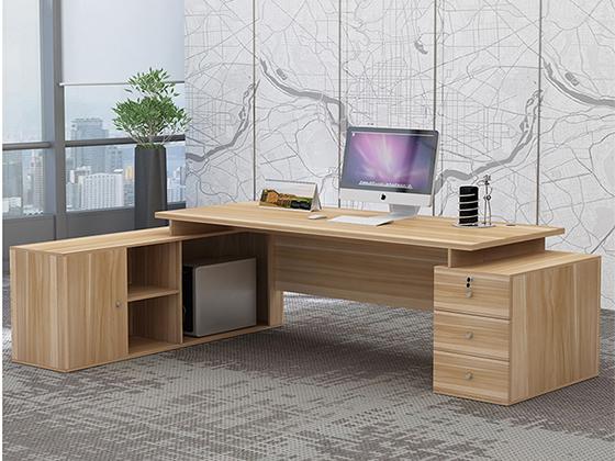 办公桌材料-办公室班台-品源办公室班台