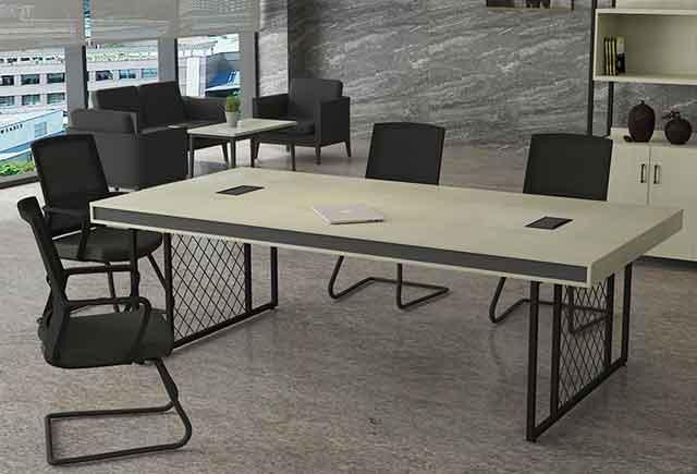 小实木会议桌_实木小会议桌