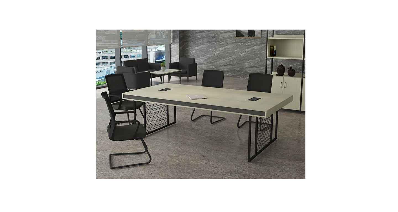 小实木会议桌-会议桌-品源会议桌