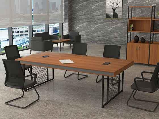 实木小会议桌-会议桌尺寸-品源会议桌