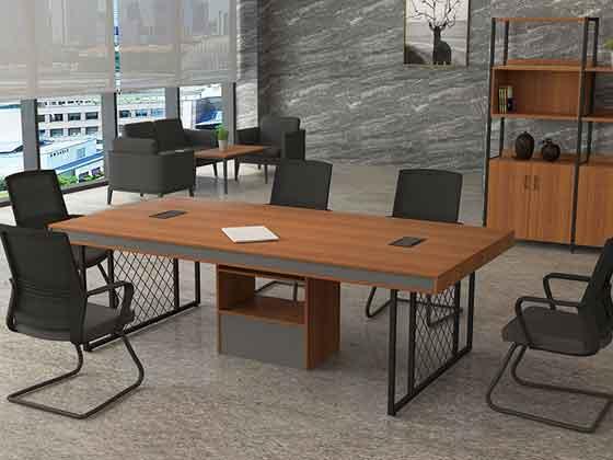 小实木会议桌-会议桌定制-品源会议桌