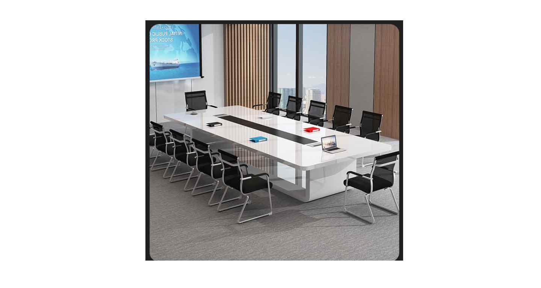长方形型油漆会议桌-会议桌-品源会议桌