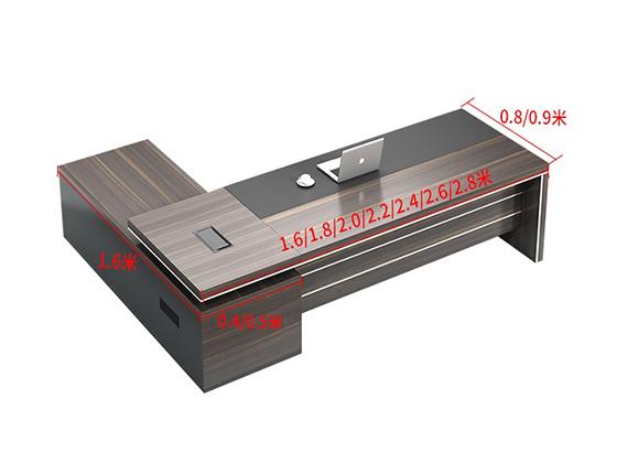 总经理办公桌尺寸-班台-品源班台