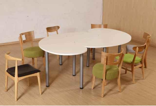 实木油漆会议桌 现代时尚大型会议桌