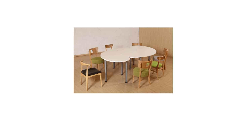 实木油漆会议桌-会议桌-品源会议桌