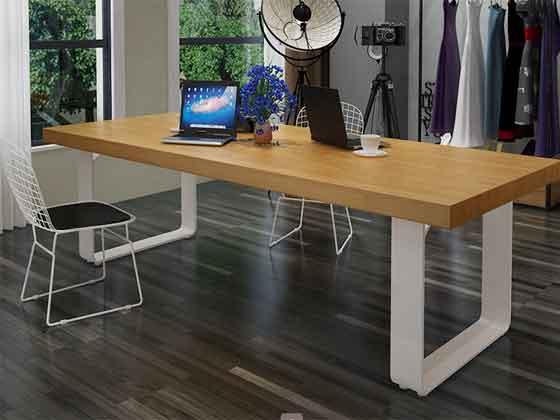 实木贴木皮会议桌-会议桌定制-品源会议桌