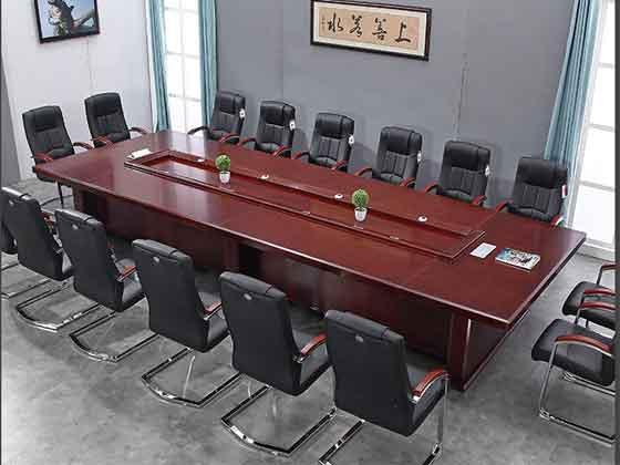 政府高端会议桌-办公室会议桌-品源办公室会议桌