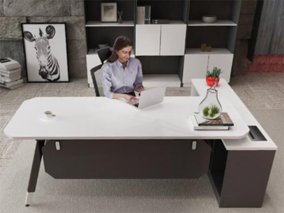 办公桌颜色-办公室班台-品源办公室班台