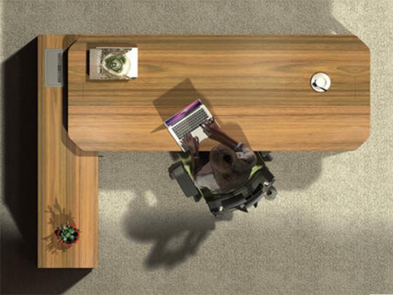 办公桌椅款式-班台尺寸-品源班台