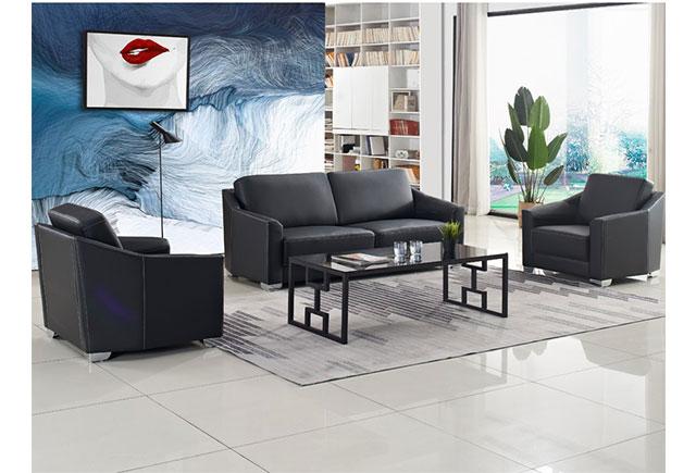 总裁办公室现代沙发样式_总裁办