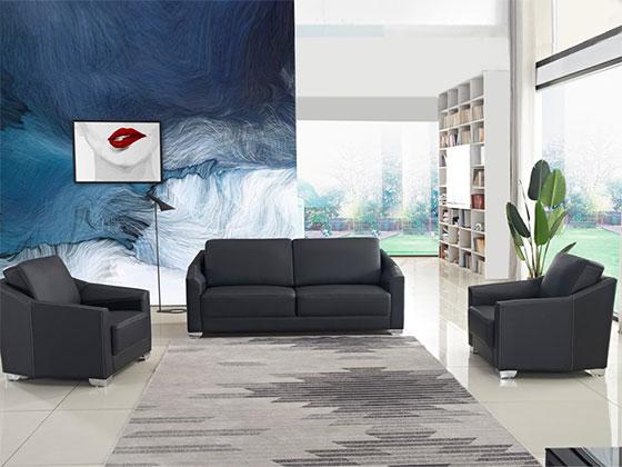 总裁办公室现代沙发样式-办公室沙发-品源办公沙发
