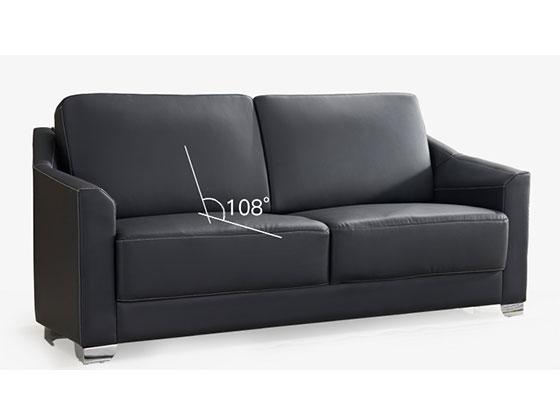 总裁办公室沙发中简-沙发定制厂家-品源办公沙发