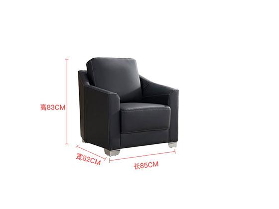 总裁办公室沙发中简尺寸-办公沙发-品源沙发