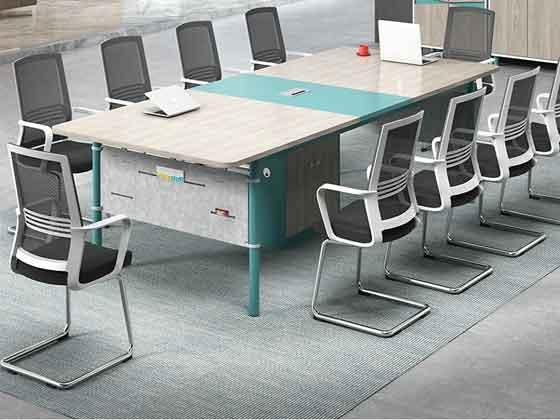 简约会议桌-会议桌尺寸-品源会议桌