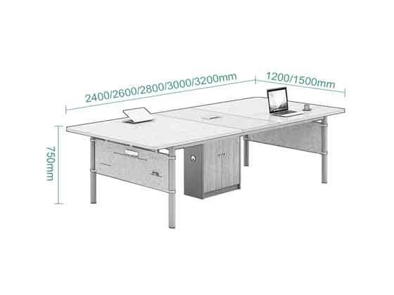 简约会议桌尺寸-会议桌-品源会议桌