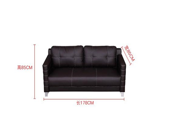 总裁办公室沙发尺寸-办公沙发-品源沙发