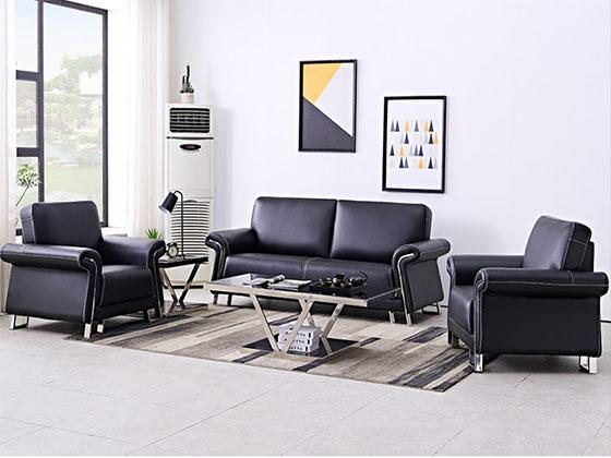 皮制沙发定做-办公沙发-品源办公沙发