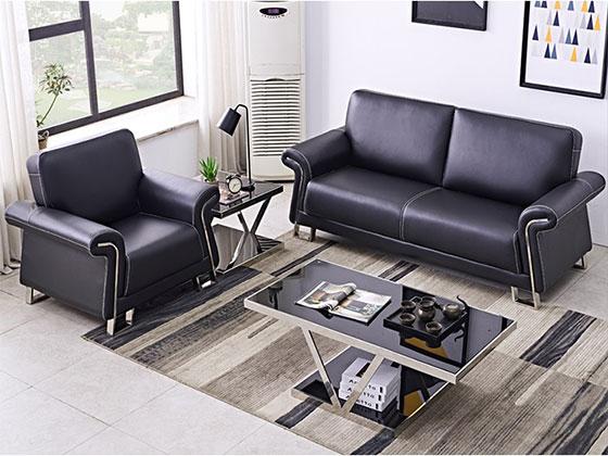 皮制沙发定做-沙发定制厂家-品源办公沙发