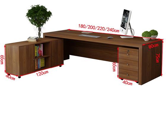 领导办公桌尺寸-班台-品源班台