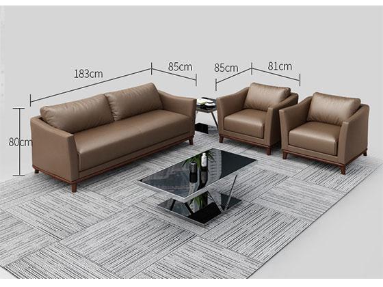 正科办公室沙发尺寸-办公沙发-品源沙发