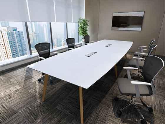油漆会议桌椅组合-会议桌-品源会议桌
