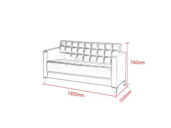 招商银行沙发定做尺寸-办公沙发-品源沙发