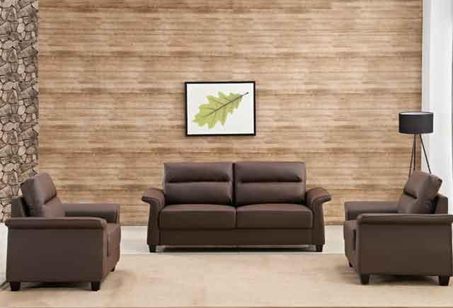 真皮办公室沙发茶几 商务接待沙发茶几 上海办公家具沙发