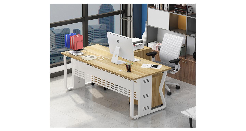公司办公桌定做-班台-品源班台
