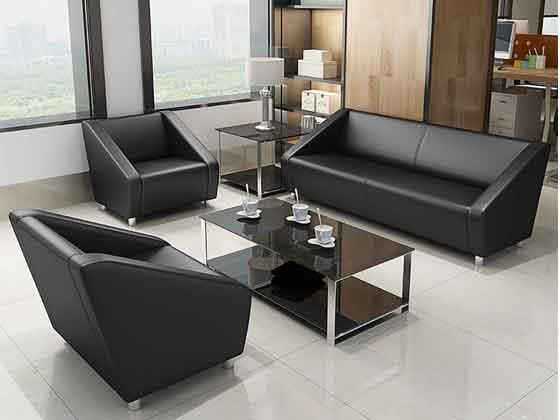 现代简约沙发-办公室沙发-品源办公沙发