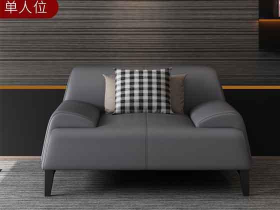 上海实木沙发定做-沙发厂家-品源办公沙发