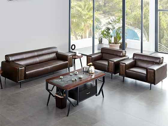 董事长办公室沙发-办公室沙发-品源办公沙发