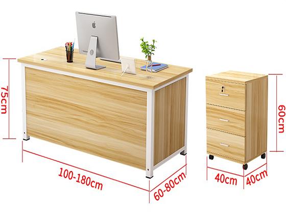 办公桌价格及款式尺寸-班台-品源班台