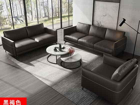 总裁办公室沙发组合-办公沙发-品源办公沙发