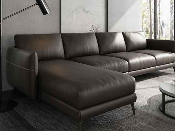 总裁办公室沙发组合-沙发定制厂家-品源办公沙发