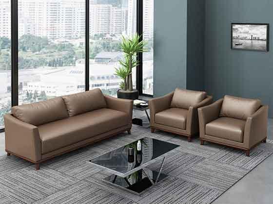 办公沙发茶几组合-办公沙发-品源办公沙发