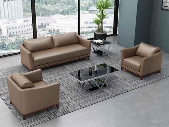 办公沙发茶几组合-沙发厂家-品源办公沙发
