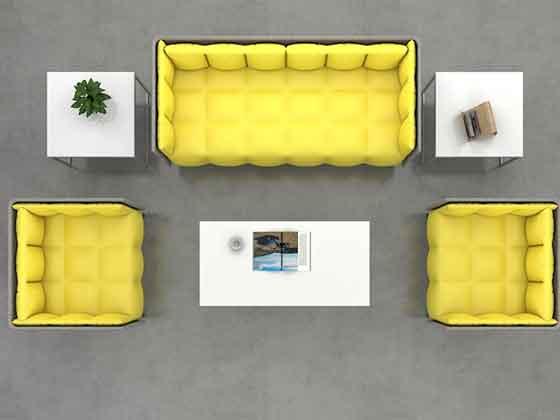 接待室洽谈沙发-办公室沙发-品源办公沙发