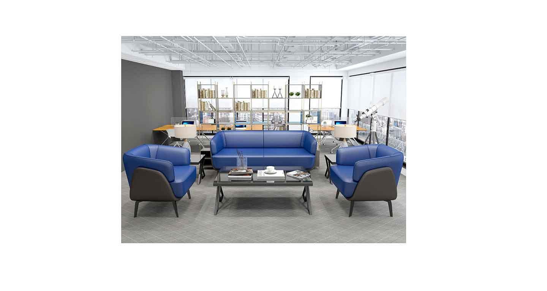 领导单人沙发-办公沙发-品源办公沙发