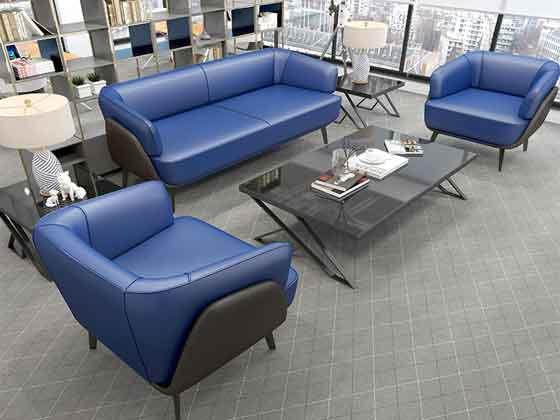 领导单人沙发-办公室沙发-品源办公沙发